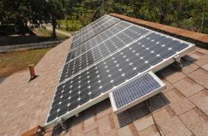solar power is becoming more popular throughout Georgia