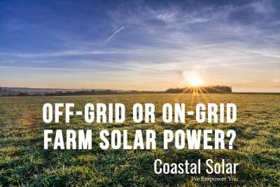 Answer these 6 questions before deciding about off-grid or on-grid solar power.