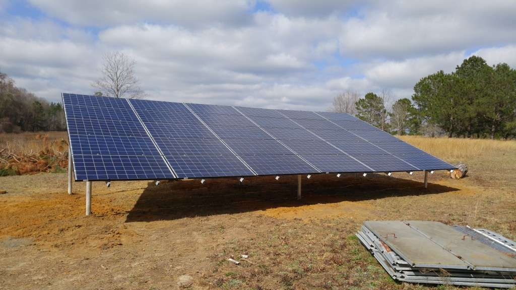 Off Grid Solar Panel Power