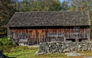 for old barns like this one, solar power is often cheaper than regular electricity
