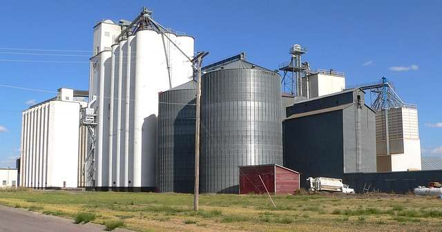 how much power does this grain silo use?