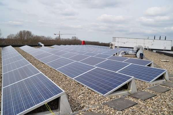 measuring commercial solar production at businesses like this one tells the company how well its investment is performing