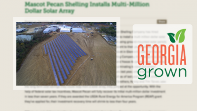 multi-million dollar solar array installed in georgia