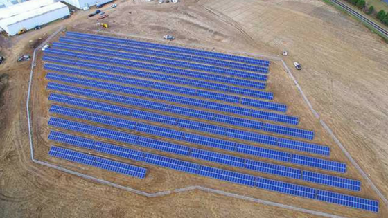 solar energy solutions for a pecan processing plant