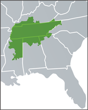 Green Power Providers program available in 7 southeastern states within the Tennessee Valley Authority territory