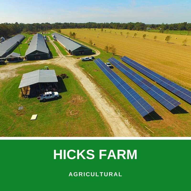 hicks farm solar project