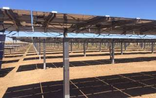 ground solar energy systems can be much larger than rooftop arrays, if you have the land