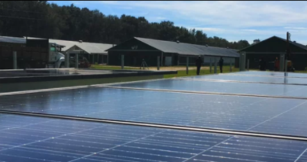 screenshot of the kenny hicks solar project video