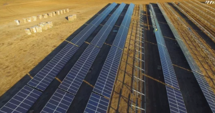 screenshot of video about the compelling nature of solar power
