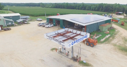 screenshot of video about coastal solar's solar projects