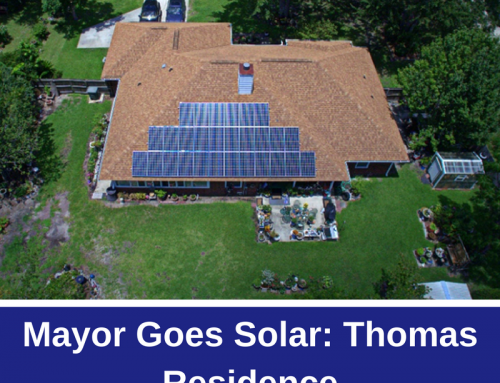 Mayor Goes Solar: Thomas Residence