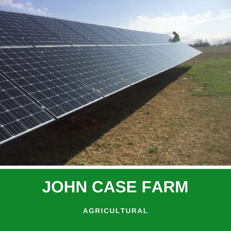 john case farm solar project