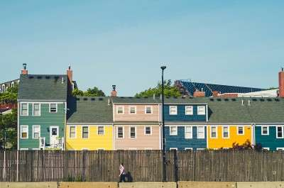 what is the cost of solar power, like these panels installed on colorful homes