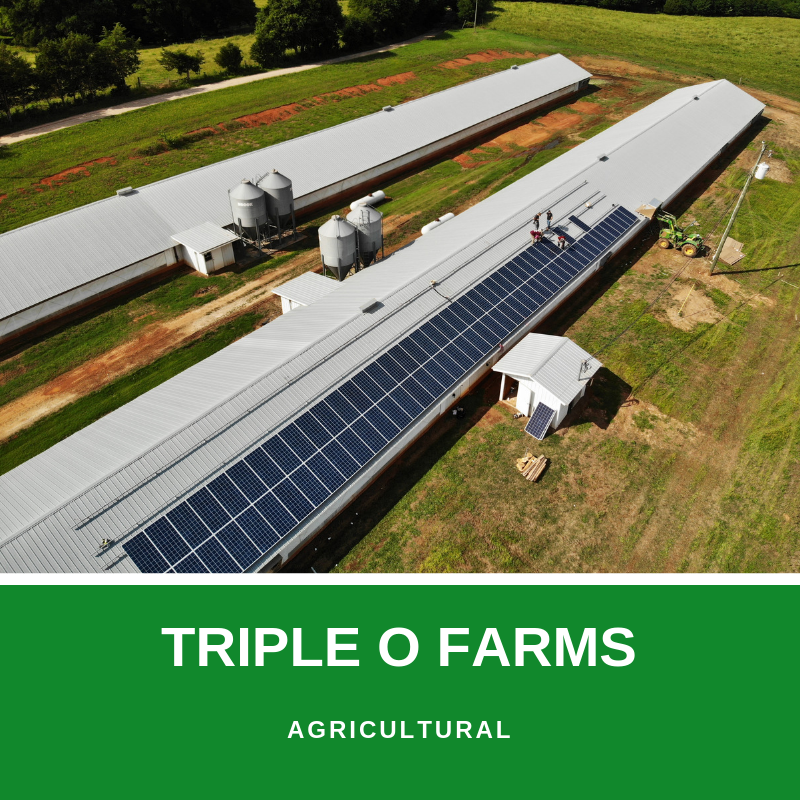 triple o farms solar panels