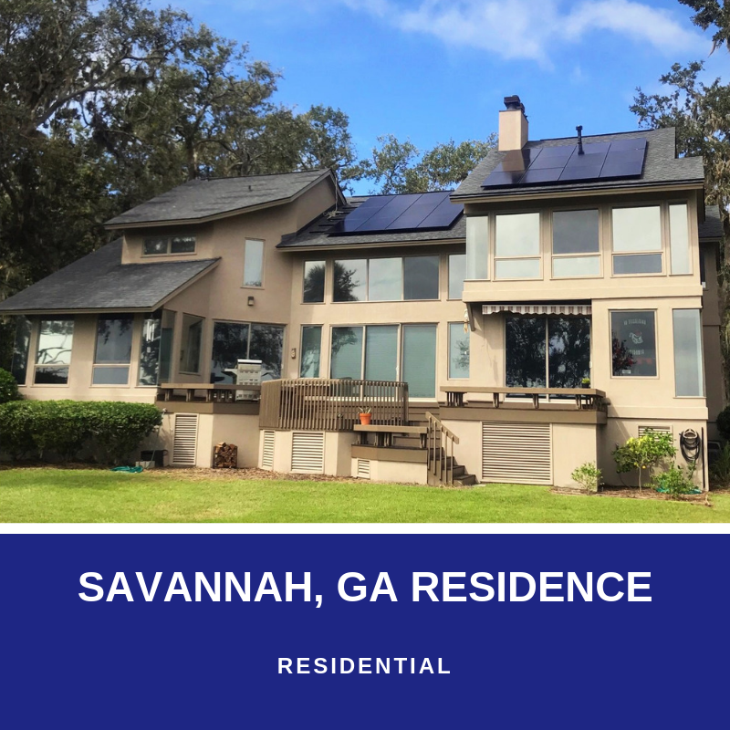 savannah ga solar installation